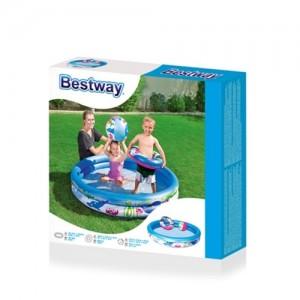 استخر بادی باتوپ و حلقه bestway 51120-تصویر 2