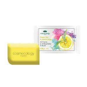 صابون ضدآکنه و آنتی باکتریال حاوی چای سبز و لیمو مناسب پوست های چرب-تصویر 2