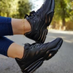 کفش کتانی نایک چرم دخترونه