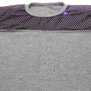 تی شرت مردانه یقه گرد براق-تصویر 5