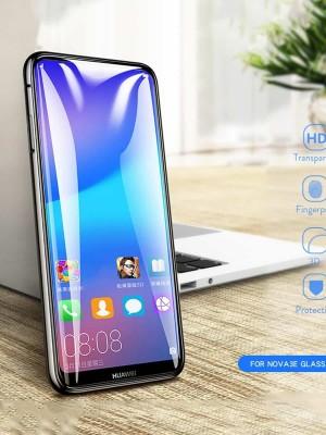 محافظ صفحه نمایش تمام چسب فول glass p20 lite - Nova 3e-تصویر 3
