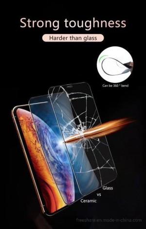 برچسب گلس نشکن سرامیک Ceramucs glass full 9D J6-تصویر 5