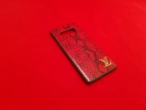 قاب چرمی پوست ماری LV Leather case Samsung Galaxy S10-تصویر 3