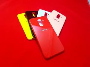 قاب پشت گلس Glass Case Samsung Galaxy J6