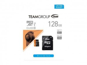 مموری کارت 128GB microSDXC TEAMGROUP کلاس 10 استاندارد UHS-I U1 سرعت 500X-تصویر 2