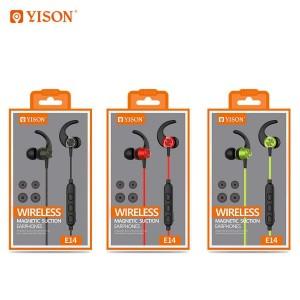 هندزفری بلوتوث وایسون Yison E14 Wireless Magnetic Earphone