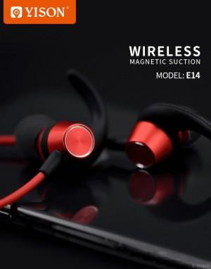 هندزفری بلوتوث وایسون Yison E14 Wireless Magnetic Earphone-تصویر 3