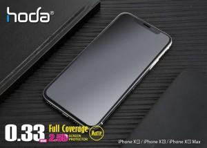 گلس تمام صفحه کریستال مات full glass Crystal Matt 9D Armir iphone XS MAX/11PRO MAX