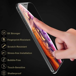 گلس تمام صفحه  full glass Turtle 18D iphone X/XS/11PRO-تصویر 2