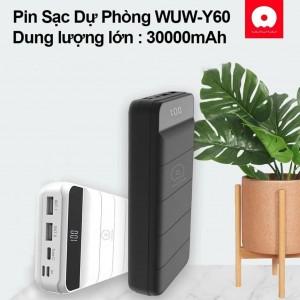 پاوربانک دبلیو یو دبلیو Power bank Wuw Y600 30000MA-تصویر 4