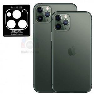 گلس لنز Camera 9H Flexible Glass Screen Protector iphone 11 pro