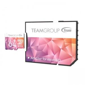 مموری کارت 64GB microSDXC TEAMGROUP کلاس 10 استاندارد UHS-lI U3-تصویر 2