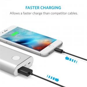 کابل تبدیل USB به لایتنینگ انکر مدل A7101 طول 0.9 متر-تصویر 3