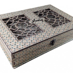 جعبه آجیل جعبه خشکبار جعبه پذیرایی جعبه چوبی کد LB027-تصویر 2