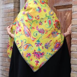 روسری نخی پاییزی-تصویر 2