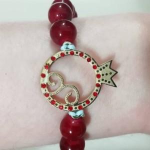 دستبند با پلاک استیل رنگ ثابت یلدا-تصویر 5