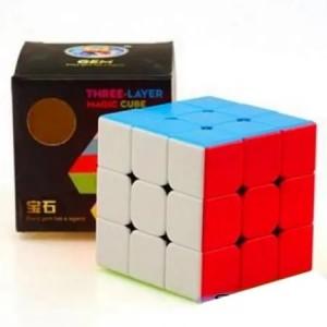 مکعب روبیک ۳*۳ حرفه ای مارک GEM-تصویر 4