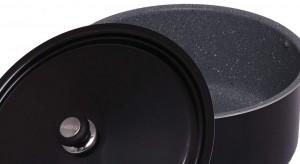 قابلمه گرانیت کاج تفلون سایز 50 درب فلزی-تصویر 2