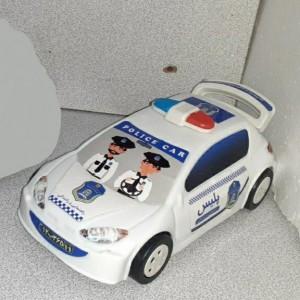 ماشین 206 پلیس پلاستیکی
