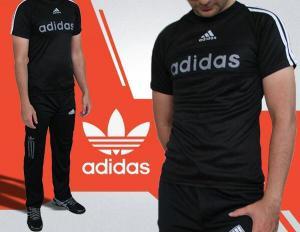 ست تیشرت و شلوار adidas Black