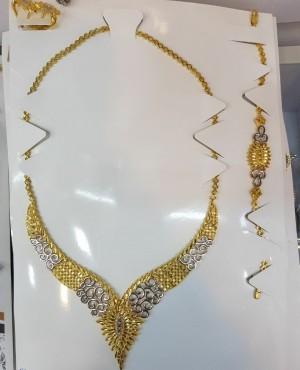 سرویس تراش دار طرح طلا