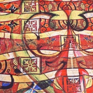 روسری ابریشم فاستونی کد89-تصویر 4