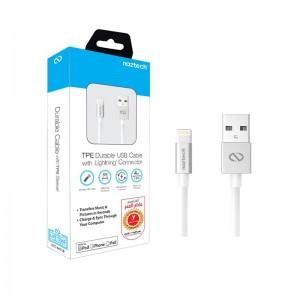 کابل تبدیل USB به Lightning نزتک مدل MFI TPE Durable-تصویر 4