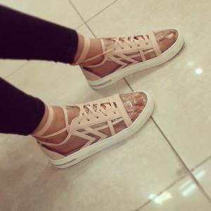 کفش تابستانی شیشه ای تورک