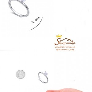انگشتر نقره سولیتر RNG339S7-تصویر 4