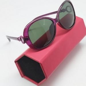 عینک دودی آفتابی زنانه پلاریزد و uy 400-تصویر 2