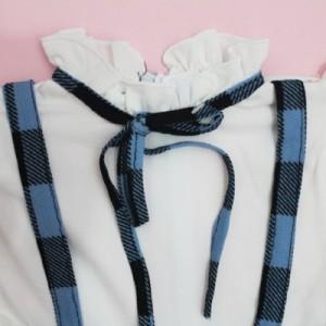 دوتیکه پیراهن دامن و تل دخترانه آیناز-تصویر 4