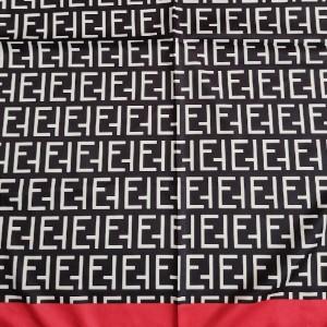 روسری دهه 60 ساتن طرح فندی-تصویر 3