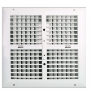 دریچه کولر مربع چهار شبکه نسیم سایز 40*40 ریموت دار-مدل V-SF-40*40-R-تصویر 2