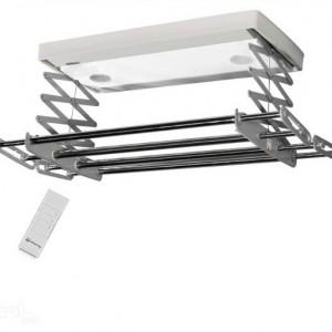 رخت آویز سقفی و برقی طوسی نسیم سایز کوچک ریموت دار- مدلC-L80-G-R-تصویر 2
