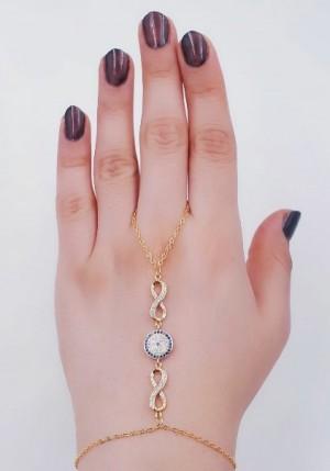 دستبند(تمیمه)طرح طلا-تصویر 3