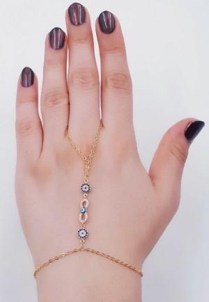 دستبند(تمیمه)طرح طلا-تصویر 5