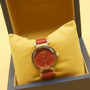 ساعت زنانه شیک قرمز تاکیا