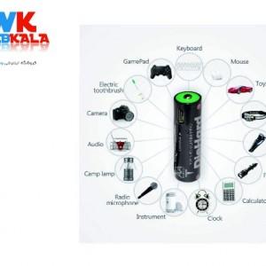 باتری قلمی قابل شارژ دای هارد مدل NI-MH.2BM.2300 بسته 2 عددی-تصویر 3