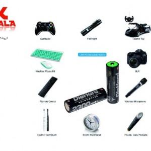 باتری قلمی قابل شارژ دای هارد مدل NI-MH.2BM.2300 بسته 2 عددی-تصویر 5