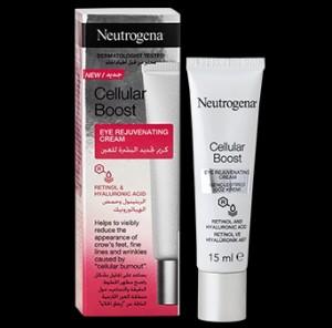 کرم ضد چروک دورچشم سلولار بوست Neutrogena آمریکا
