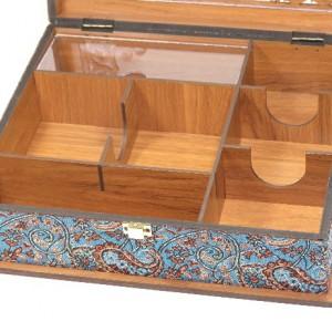 جعبه پذیرایی جعبه آجیل جعبه دمنوش لوکس باکس کد LB55-تصویر 2
