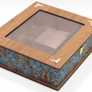 جعبه پذیرایی جعبه دمنوش جعبه آجیل و خشکبار لوکس باکس کد LB53-تصویر 3