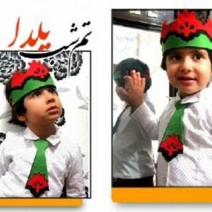 تاج و کراوات طرح انار-تصویر 2