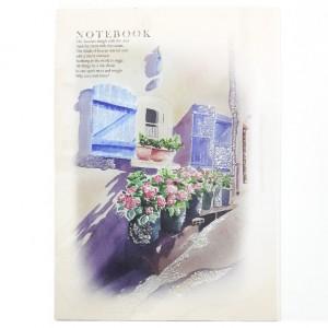دفتر نقاشی اکلیلی برند آزاده