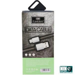 کابل تبدیل USB به Type-c ارلدام مدل EC-013C طول 30 سانتی متر-تصویر 2