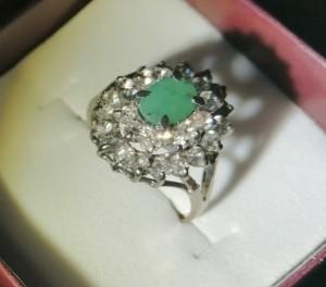 انگشتر زمرد سبز-تصویر 2