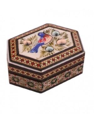 جعبه جواهرات خاتم کاری-تصویر 3