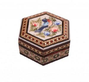 جعبه جواهرات خاتم کاری-تصویر 2