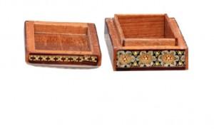 جعبه جواهرات خاتم کاری-تصویر 4