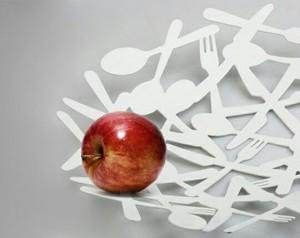 ظرف میوه خوری قاشق چنگال-تصویر 2